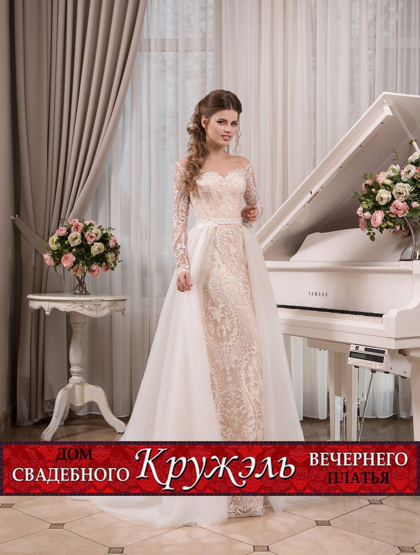 Свадебные платья для октября